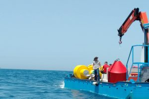 Instalohen 5 bova ankoruese të vendosura përgjatë pikave më të frekuentuara të parkut detar Karaburun-Sazan