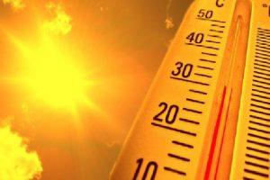 I nxehti ekstrem 'pushton' vendin, temperaturat do arrijnë deri 40 gradë C