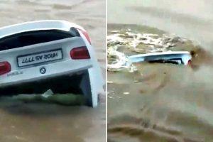 Hedh në lumë BMW-në dhuratë nga prindërit sepse kishte dashur Jaguar