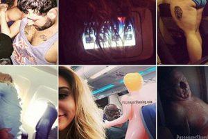 Fotogaleri/ E pabesueshme ç'ndodh në avion