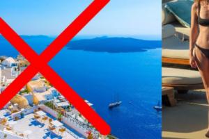 """""""Asgjë nuk është si në Instagram"""", modelja e njohur e tërbuar: Nuk do të kthehem kurrë më në Mykonos"""