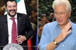 Matteo Salvini përplaset ashpër me Richard Gere