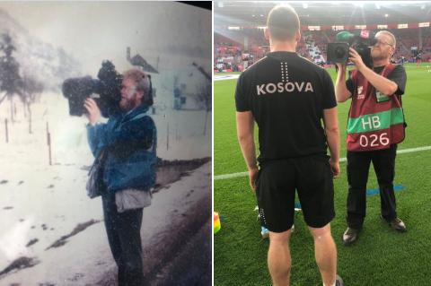 Historia e kameramanit anglez: Para 22 vjetësh e xhiroi gjendjen në Kosovë, ndërsa dje ndeshjen