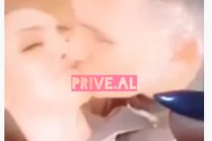 Zbulohet lidhja e Genta Ismajlit? Publikohen pamjet ku puthet në buzë me një mashkull