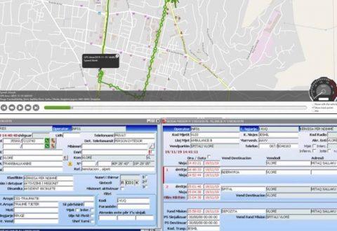 """Ambulanca e QKUM per 8 min në vendngjarje,SQARIM, në lidhje me aksidentin në rrugën """"Transballkanike"""" pasditen e sotme në Vlorë"""
