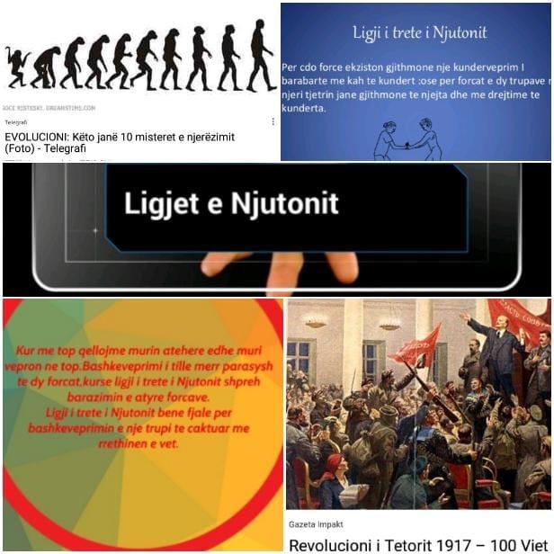Evolucioni dhe revolucioni njerëzor në lidhje me budallikun! Ligji i tretë i Njutonit