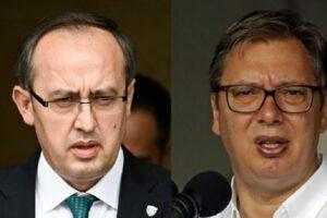 Detaje nga takimi në Bruksel, BE del me deklaratë: Hoti dhe Vuçiç zotohen se …