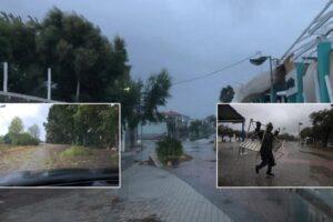 Fotot/ Cikloni godet Greqinë! Ndodh e paparashikueshmja, 'shpëton' Athina