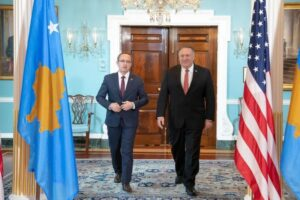 Një ditë pas marrëveshjes me Serbinë, kryeministri i Kosovës takohet me Pompeon: SHBA e gatshme për të mbështetur Kosovën në procesin e dialogut