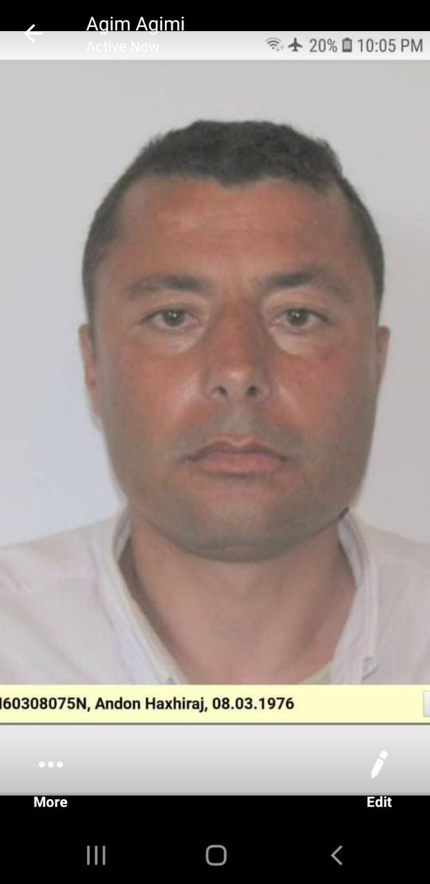 Andon Haxhiraj, personi që shihni në foto prej tre ditësh ka humbur kontaktet me familjen.