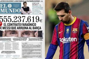 """""""Kontrata e Messi që fundosi Barcelonën"""", zbulohen shifrat e çmendura, ja sa fitoi """"Pleshti"""" nga rinovimi i fundit"""