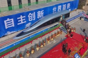 Kina prezanton trenin me shpejtësi 620 km/orë