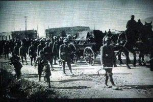 Kur Ismail bej Vlora varrosej në Vlorë më 12 shkurt 1919.