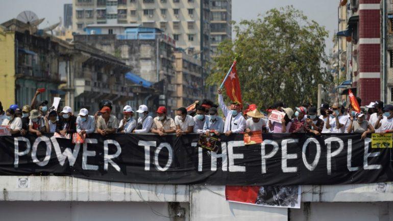 Puçi ushtarak, SHBA sanksionon dy gjeneralë të tjerë në Mianmar
