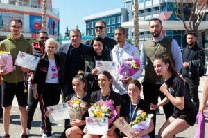 """Gjiknuri ndjek maratonën """"Lungomare 2021""""/ Ilda Lelo kampionia Vlonjate, vlerësohet  me çmimin e parë"""