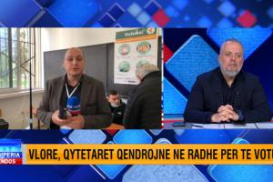 Situatë e çuditshme në Vlorë, komisioneri paraqitet në QV, por detyrohet të largohet. Gazetari: Nëna e tij paraqiti një dokumentacion që…