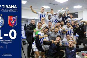 Tirana bëhet faktor në garën për titull, Vllaznia bie në kryeqytet. Teuta rimerr kreun, Partizani ndalet në Laç