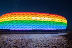 Gjermania kërkoi të ndriçojë stadiumin me ngjyrat e ylberit, refuzon UEFA