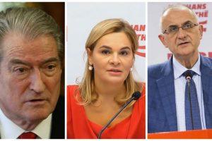 Basha e përjashtoi nga Grupi Parlamentar, Sali Berisha i bashkohet Kryemadhit dhe Vasilit në Parlamentin e Shqipërisë